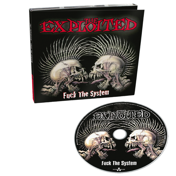 EXPLOITED: FUCK THE SYSTEM (CD) DIGIPACK