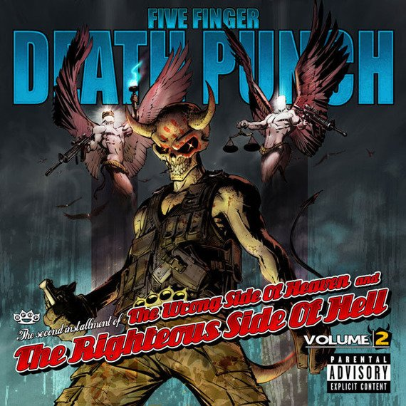 FIVE FINGER DEATH PUNCH : THE WRONG SIDE OF HEAVEN AND THE RIGHTEOUS SIDE OF HELL VOL.2 (CD)