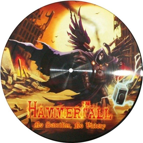 HAMMERFALL - NO SACRIFICE, NO VICTORY (2LP PICTURE VINYL)