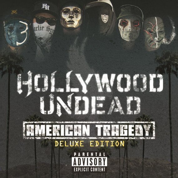 HOLLYWOOD UNDEAD: AMERICAN TRAGEDY (CD) DELUXE