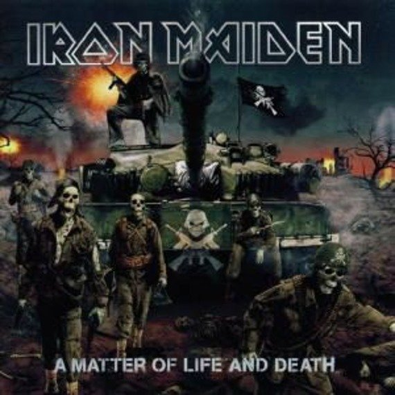 IRON MAIDEN: A MATTER OF LIFE AND DEATH (CD)