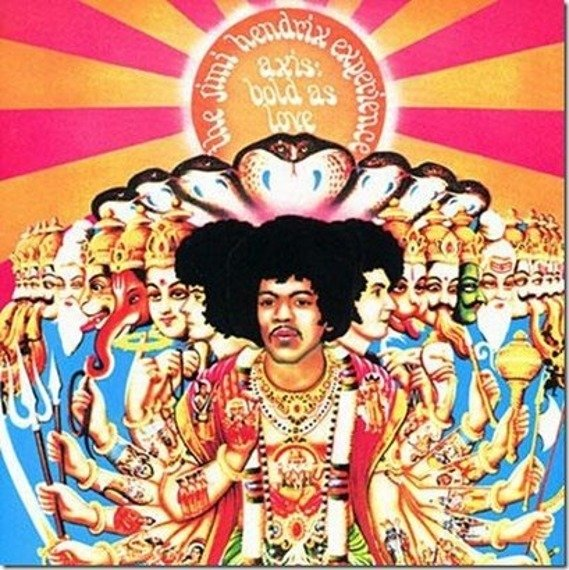 JIMI HENDRIX EXPERIENCE - AXIS: BOLD AS LOVE (CD)