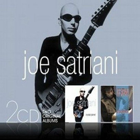 JOE SATRIANI : CRYSTAL PLANET / NOT OF THIS EARTH (CD)