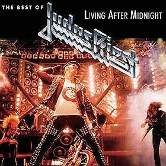 JUDAS PRIEST : LIVING AFTER MIDNIGHT (CD)