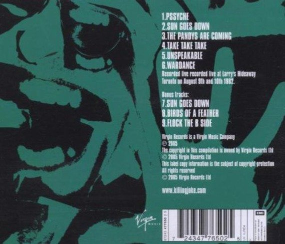 KILLING JOKE: HA (CD)