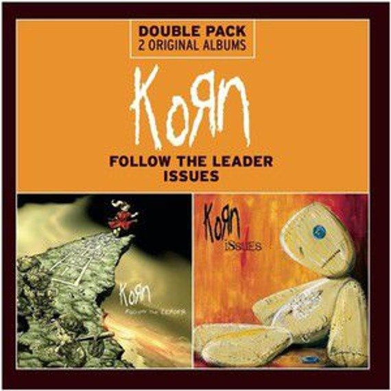 KORN : FOLLOW THE LEADER/ISSUES (CD)