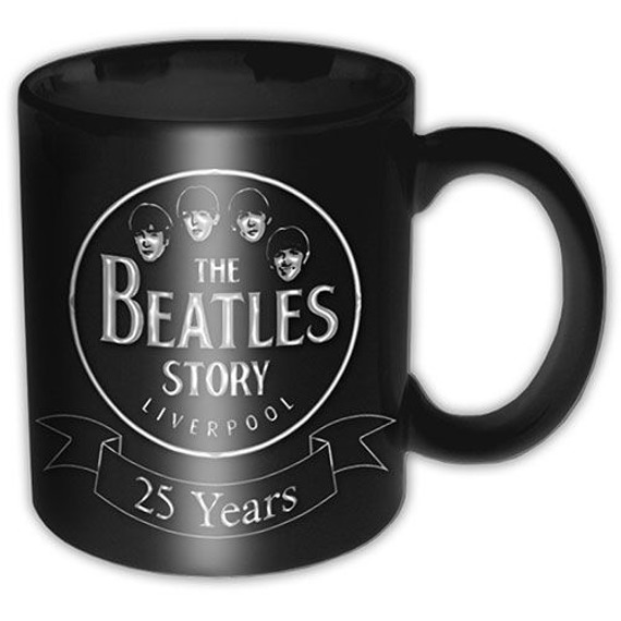 Kubek THE BEATLES - THE BEATLES STORY 25 YEARS
