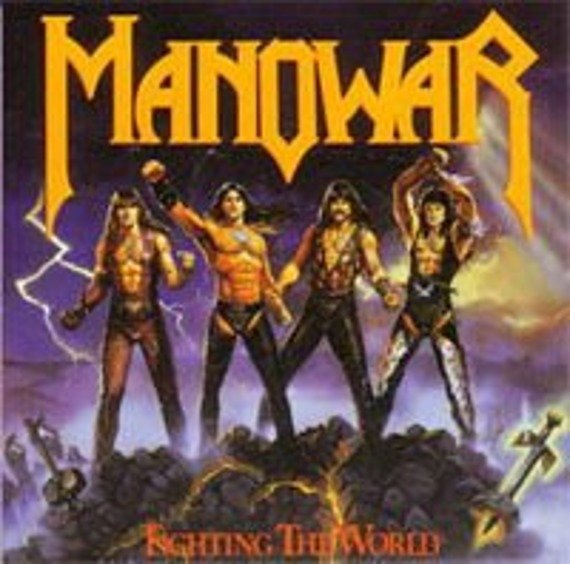 MANOWAR:  FIGHTING THE WORLD (LP VINYL)
