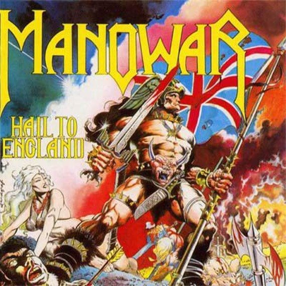 MANOWAR: HAIL TO ENGLAND (CD)