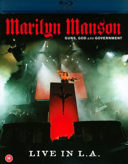 MARILYN MANSON: GUNS, GOD AND GOVERMENT (BLU-RAY)
