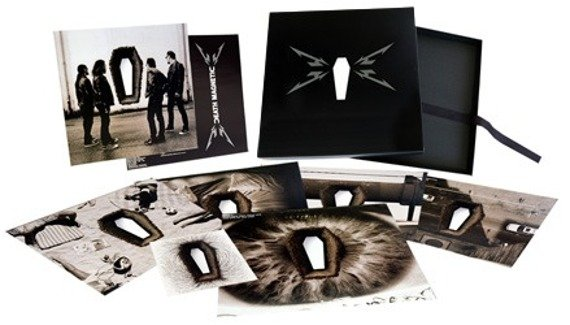 METALLICA: DEATH MAGNETIC (5LP VINYL)