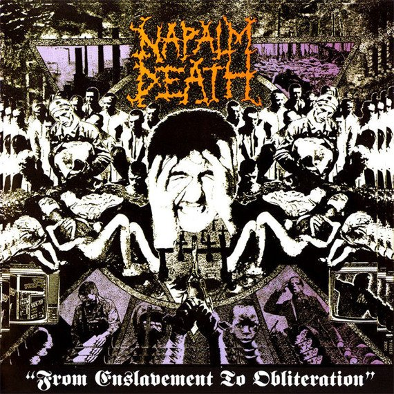 NAPALM DEATH: FROM ENSLAVEMENT TO OBLITERATION (CD)
