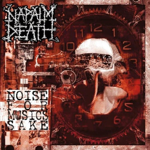 NAPALM DEATH: NOISE FOR MUSIC SAKE (CD)