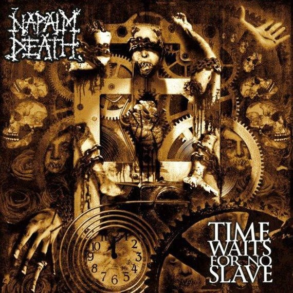 NAPALM DEATH: TIME WAITS FOR NO SLAVE (CD)