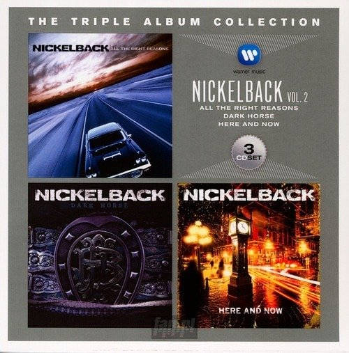 NICKELBACK: TRIPLE ALBUM COLLECTION (3CD)