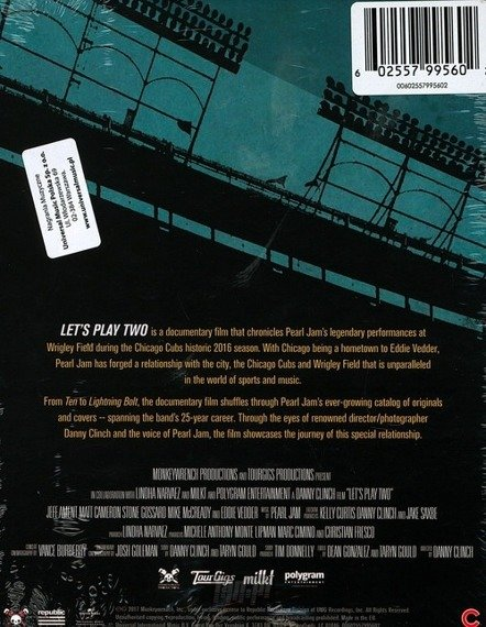PEARL JAM: LET'S PLAY TWO (2BLU-RAY)