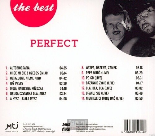 PERFECT: AUTOBIOGRAFIA - THE BEST (CD)