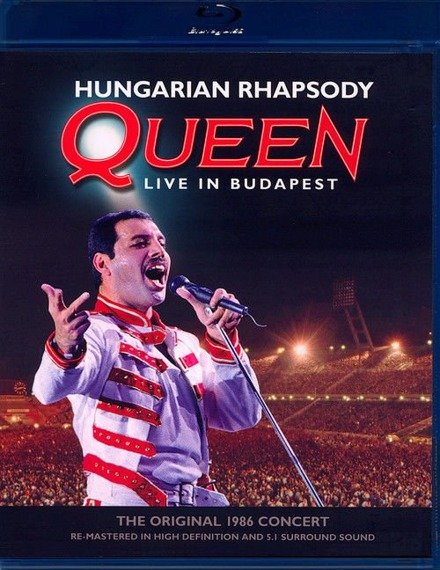QUEEN: HUNGARIAN RHAPSODY LIVE IN BUDAPEST (BLU-RAY)