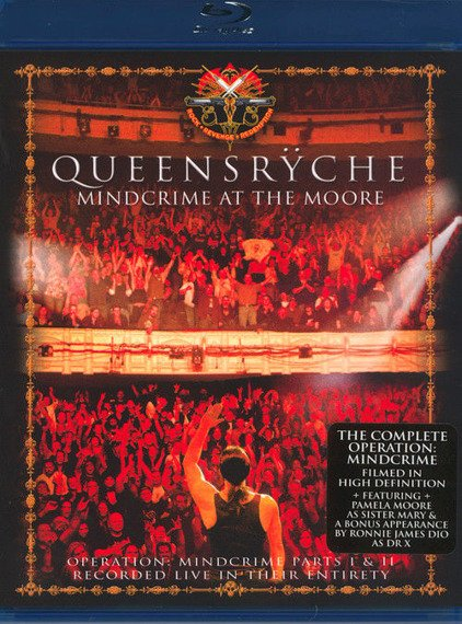 QUEENSRYCHE: MINDCRIME AT THE MOORE (BLU-RAY)