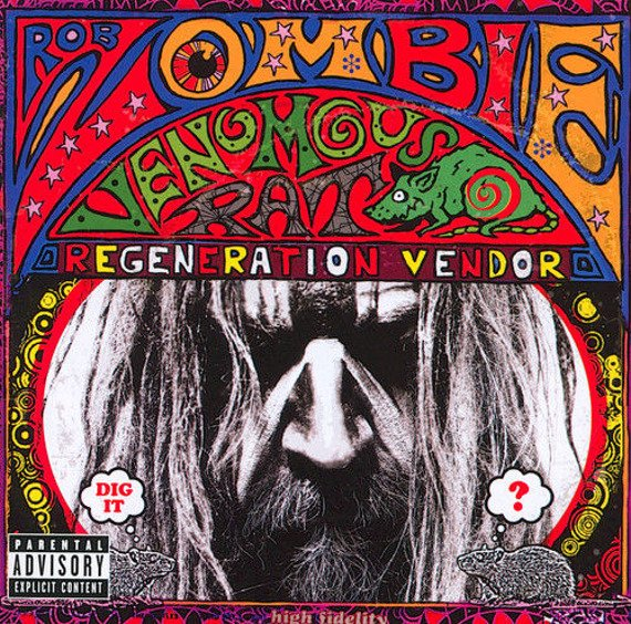 ROB ZOMBIE: VENOMOUS RAT REGENERATION VENDOR (CD)