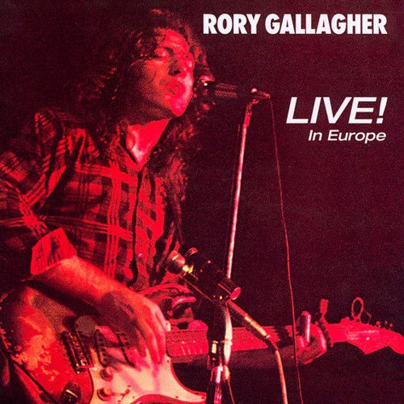 RORY GALLAGHER: LIVE! IN EUROPE (CD)