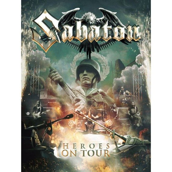 SABATON: HEROES ON TOUR (2DVD+CD DIGI)