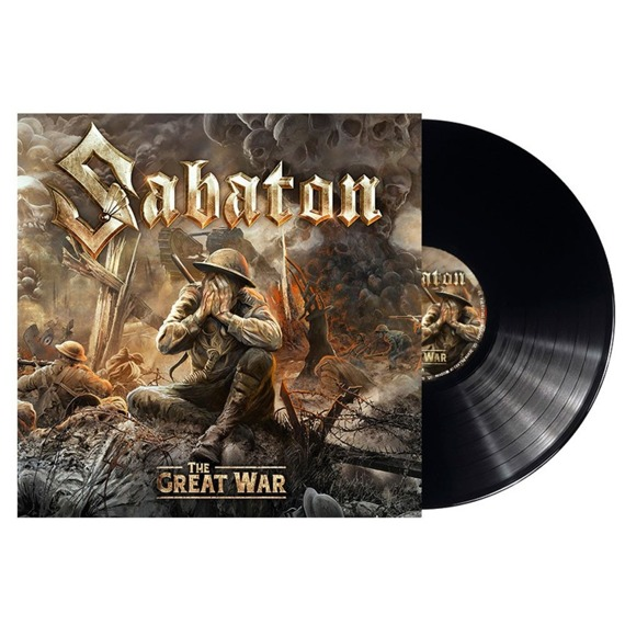 SABATON: THE GREAT WAR (LP VINYL)