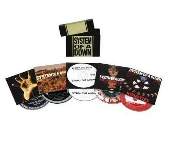 SYSTEM OF A DOWN : SYSTEM OF A DOWN - ALBUM BUNDLE (5CD)