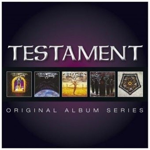 TESTAMENT: ORIGINAL ALBUM SERIES (5CD)