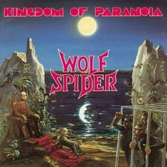 WOLF SPIDER: KINDGDOM OF PARANOIA (CD)