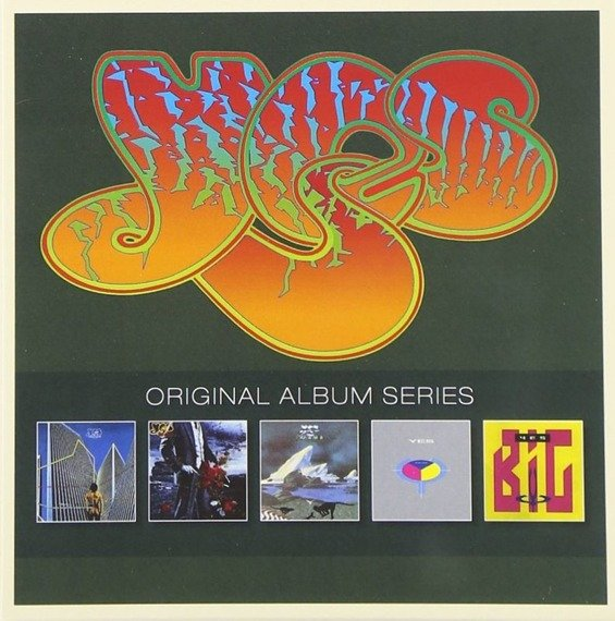 YES: ORIGINAL ALBUM SERIES (5CD)