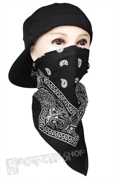 bandana BLACK/WHITE