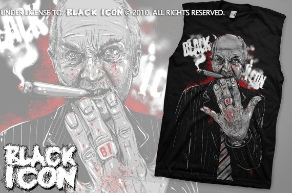 bezrękawnik BLACK ICON - THE KNIFE MAN (BRICON023)
