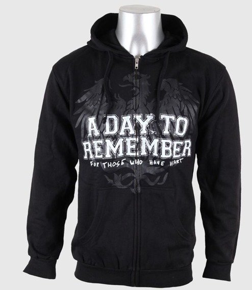 bluza A DAY TO REMEMBER - FRIENDS rozpinana, z kapturem