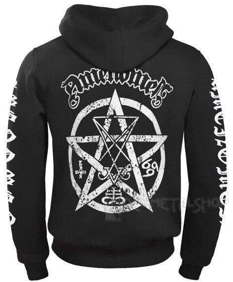 bluza AMENOMEN - PENTAGRAM rozpinana, z kapturem (OMEN012CR)