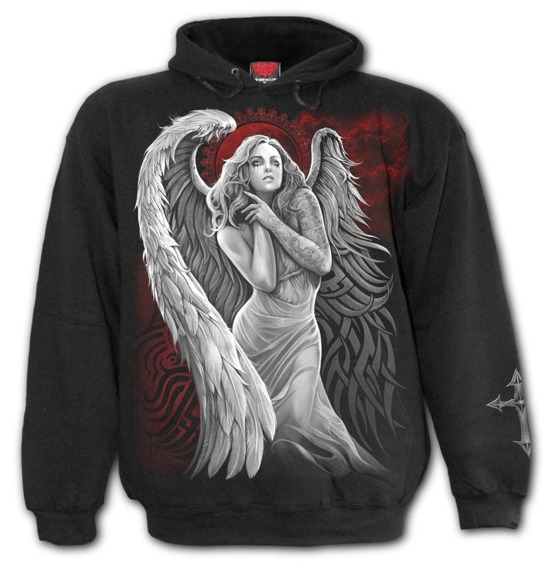 bluza ANGEL DESPAIR, kangurka z kapturem