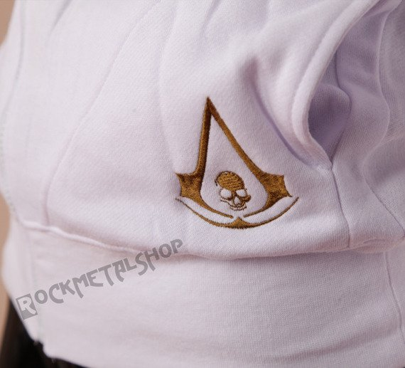 bluza ASSASSINS CREED - GOLDEN WINGS LOGO rozpinana, z kapturem