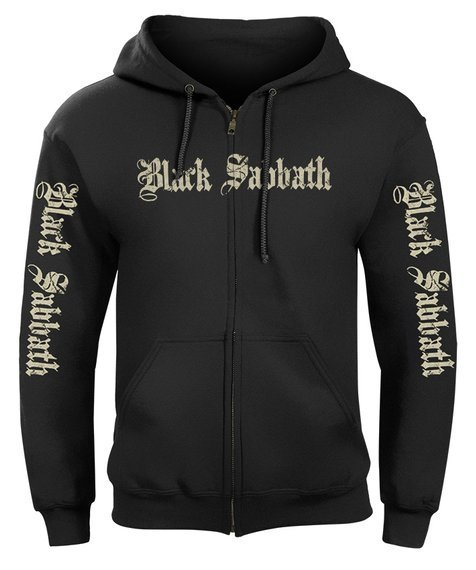 bluza BLACK SABBATH rozpinana, z kapturem