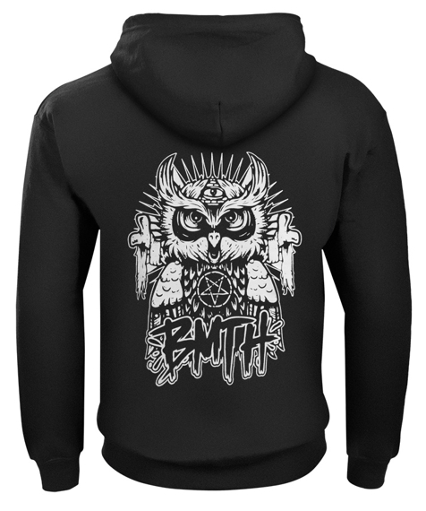 bluza BRING ME THE HORIZON - OWL rozpinana, z kapturem