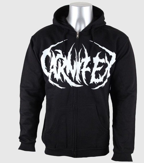 bluza CARNIFEX - WICKED AXE rozpinana, z kapturem