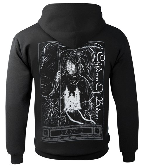 bluza CHILDREN OF BODOM - HEXED, rozpinana z kapturem