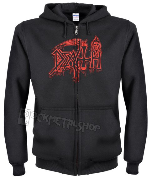 bluza DEATH - SCREAM BLOODY GORE, rozpinana z kapturem