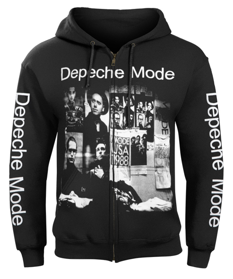bluza DEPECHE MODE - 101 LIVE IN USA rozpinana, z kapturem