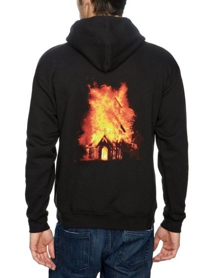 bluza GORGOROTH - CHURCH, rozpinana z kapturem