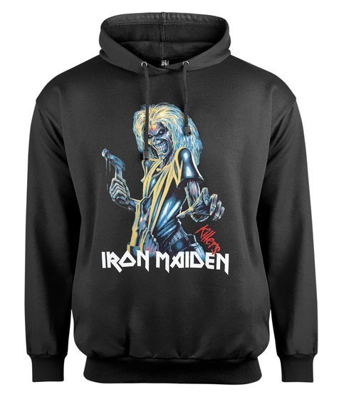 bluza IRON MAIDEN - KILLERS , z kapturem