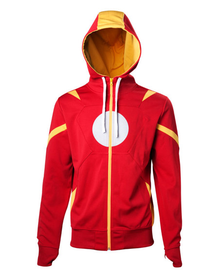 bluza IRON MAN rozpinana z kapturem