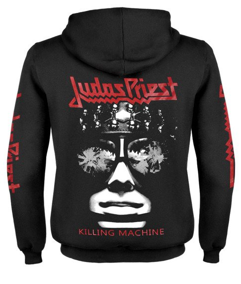 bluza JUDAS PRIEST - KILLING MACHINE rozpinana, z kapturem
