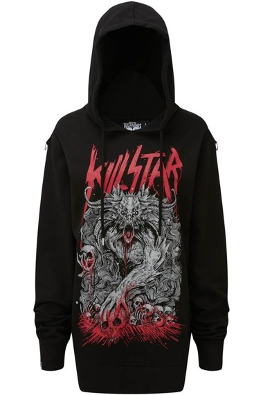 bluza KILL STAR - CRYPT z kapturem