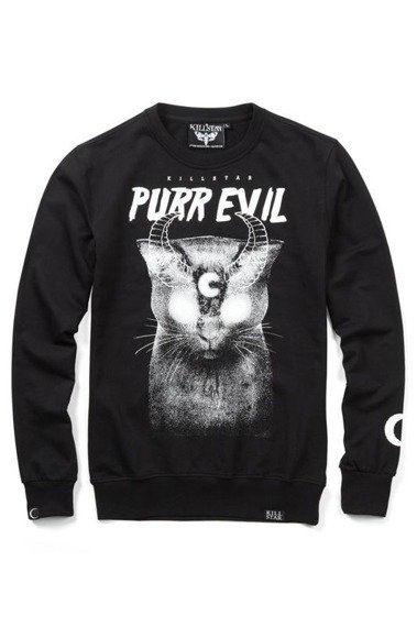bluza KILL STAR - PURR, bez kaptura