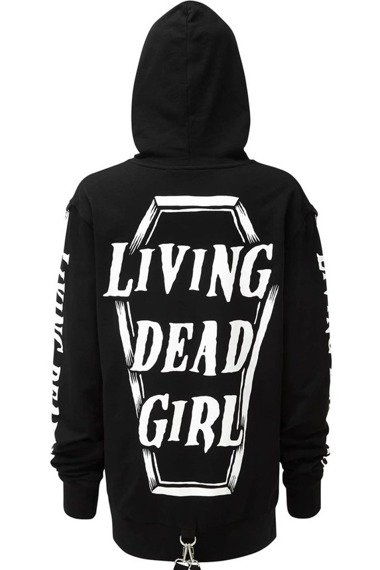 bluza KILL STAR - ROB ZOMBIE, LIVING DEAD GIRL z kapturem